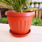 Garden Flower Pot High Quality Garden Plant Plastic Modern Small Flower Pot