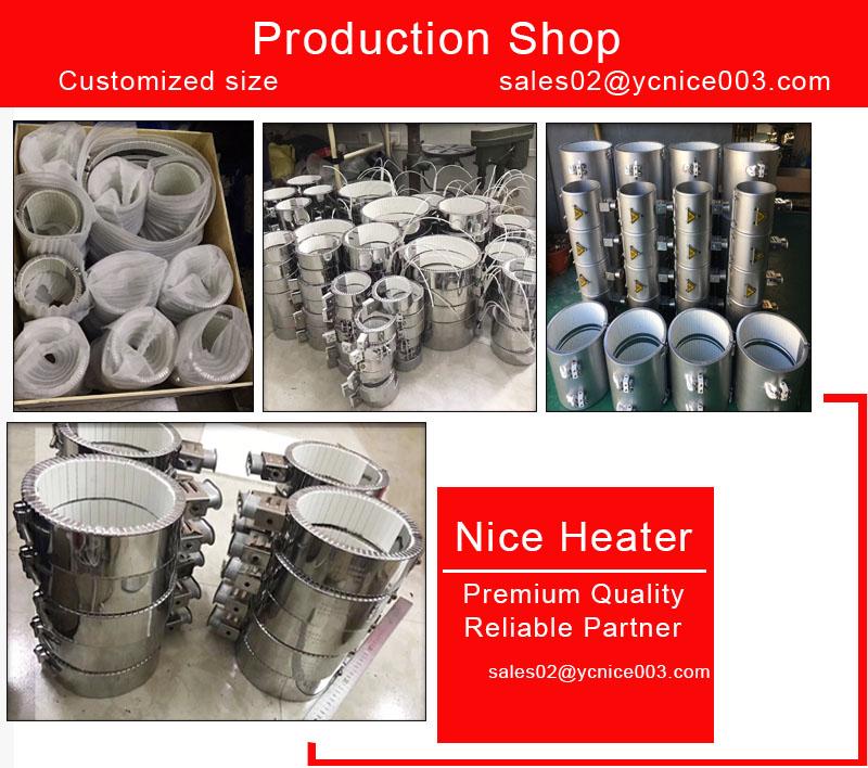 220 v Энергосберегающие керамический ленточный нагреватель для пластикового экструдера
