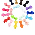 Hot Sale All Custom Colourful Bowtie Kids Pets Hairpin For Hair