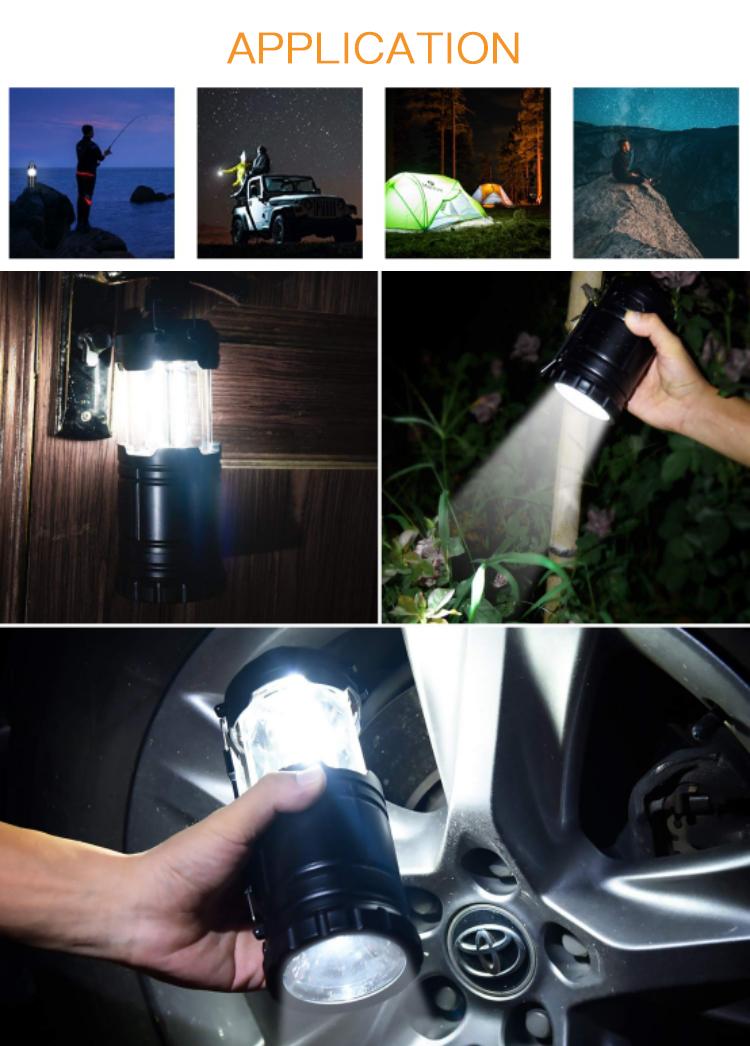 Süper parlak kamp feneri led araba tamir için