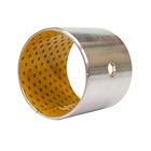 China Wholesale Composite Metal Oil-free Sleeve DX Bushing with POM