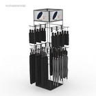 China manufacturer rotating 4-way accessories umbrella display rack