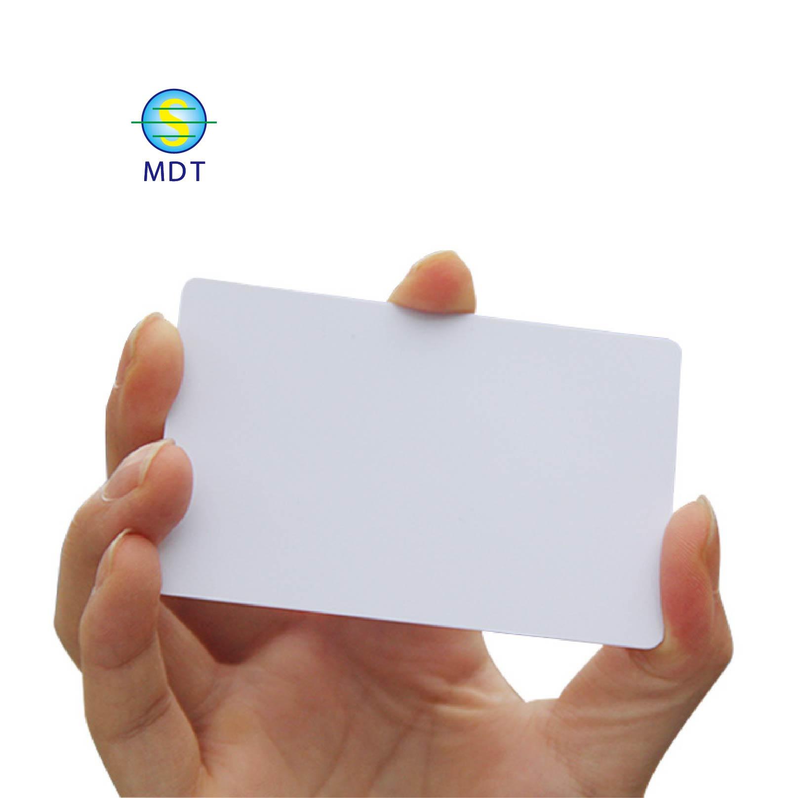 Blank pvc magnet karte