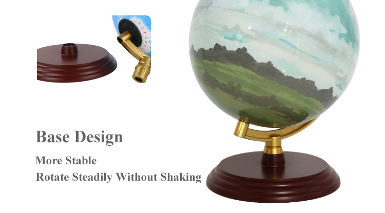 Top quality in the market 20cm Rechargeable With Lamp Globe