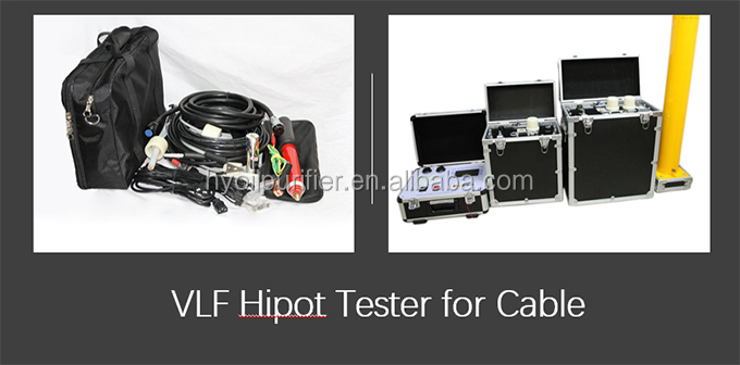 VLF Series Very Low Frequency Hipot Test Equipment  Cable Hipot Tester