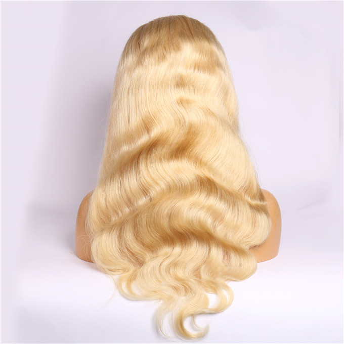 613 Lace Frontal Wig <strong>Body</strong> <strong>Wave</strong> <strong>Human</strong> <strong>Hair</strong>, Wholesale Price Virgin Blonde 613 <strong>Body</strong> <strong>Wave</strong> 13 by 4 Lace Frontal Wig for Black Women