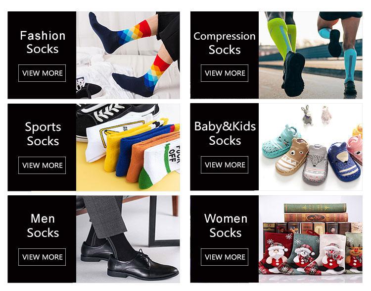 embroided womens socks