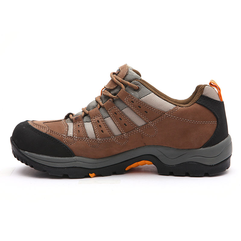2020 Large Size 13 Unisex Leather Breathable Outdoor Sneakers Waterproof Women Trekking Shoes for Men