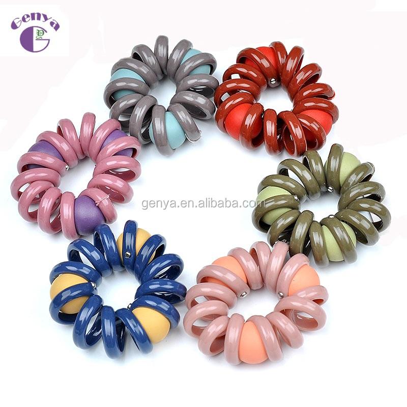 Genya Korea Sederhana Karet Rambut Elastis Tali Kualitas Tinggi Menenun Elastis Rambut Dasi untuk Gadis Rambut Aksesoris