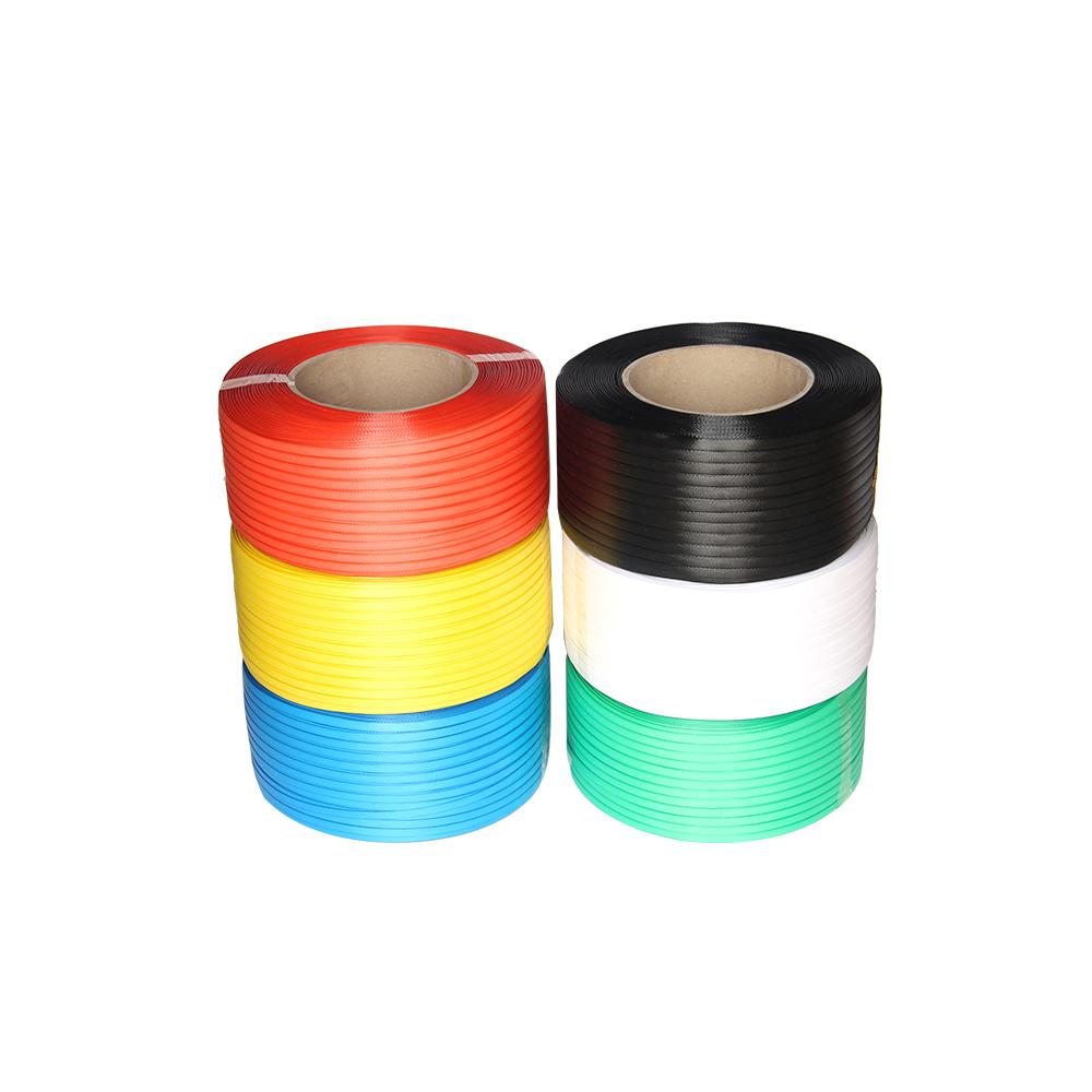 Best verkopende kwaliteit zes-kleur PP plastic verpakking strapping riem