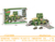 Military intelligent track racer storage parking lot car alloy vehicles set toys