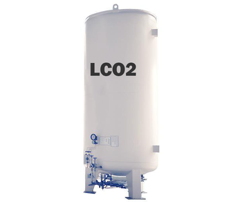 cryogenic tank companies supply 8m3 tank container for carbon dioxide