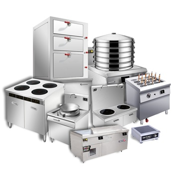 Stainless Steel Heavy Duty Hotel Commerical Used Restaurant Catering Professional Kitchen Equipment