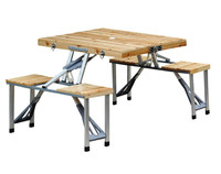 Heavy Innovations Portable Folding Picnic Table with 4 Seats