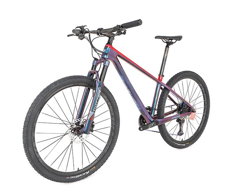 중국 EPS 기술 mtb 탄소 프레임 27.5 29er 통해 차축 12*142mm 서스펜션 산악 자전거