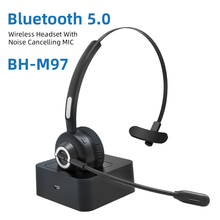 2020 Drahtlose Bluetooth Telefon Computer Gaming Call-Center-Headset Mit Noise Cancelling Mikrofon