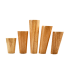 Wood Legs Table Wood Table Legs Wood 10cm Wholesale Factory Price Nature Solid Round Wood Wooden Sofa Legs For Cabinet Bed Table