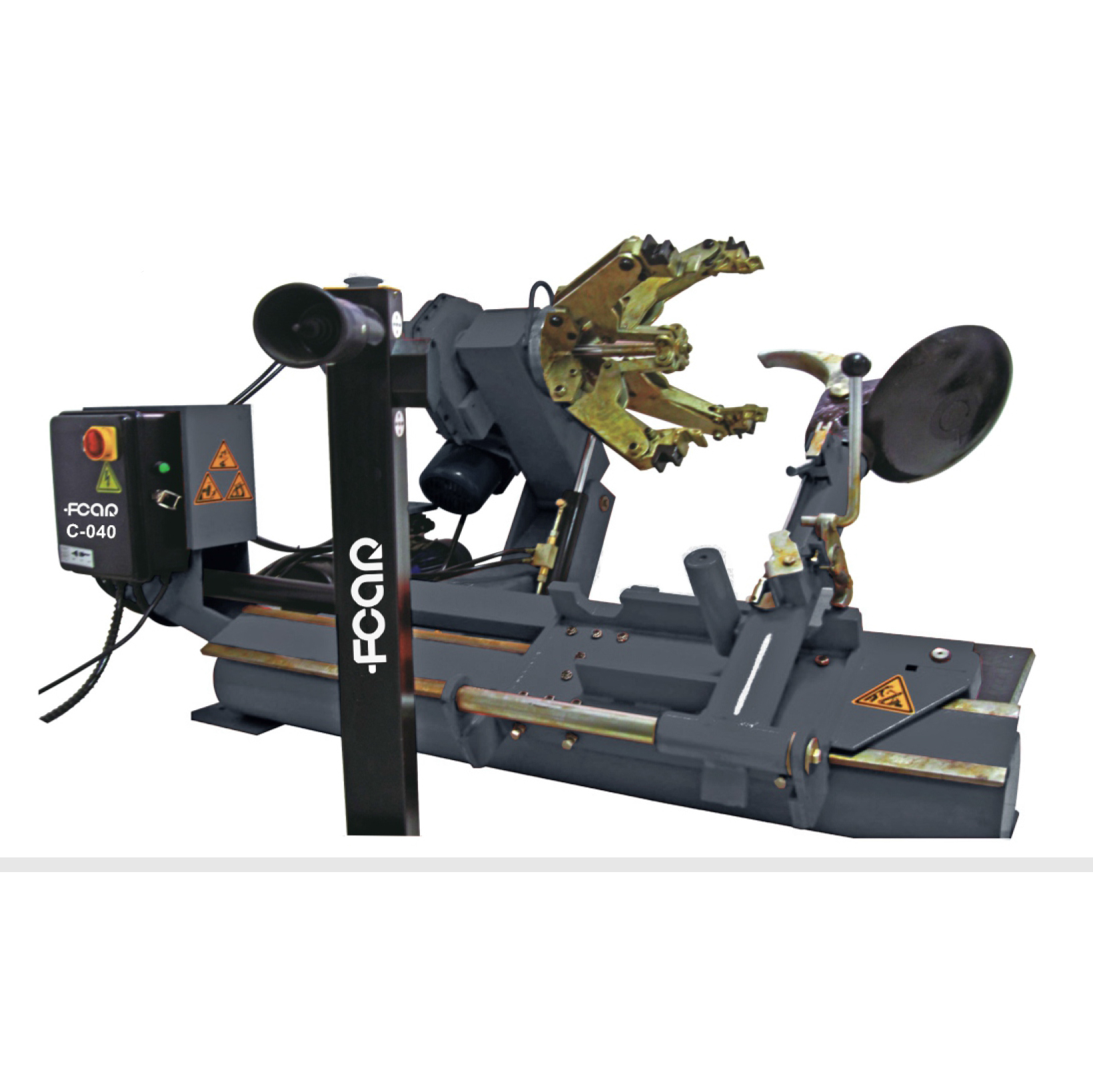 FCAR C-040 tire changer for truck, farm vehicle, car, industrial vehicle max 500kg wheel weight garage equipment and tools