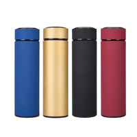 Zhejiang Gold Supplier Vacuum Stainless Steel Metal Material Insulated Drinking Water Bottle, Flask