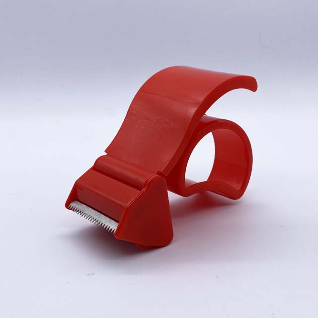 Packaging carton opp tape dispenser plastic heavy duty shipping packaging tape with gun cutter tape