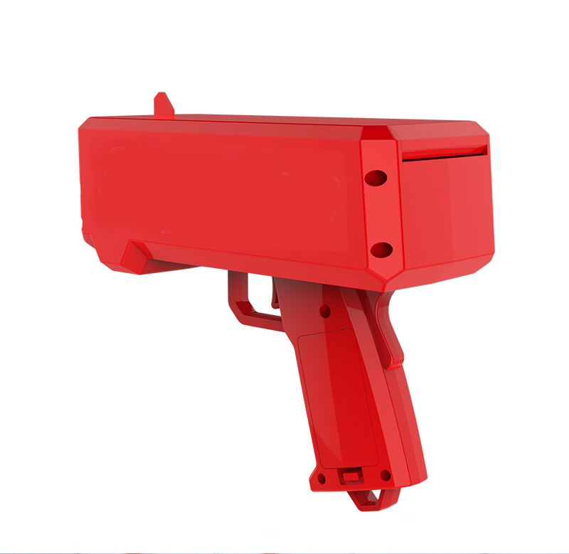 2020 Hot sale cash cannon money spray gun for shooting money to Strengthen Party and festival atmosphere