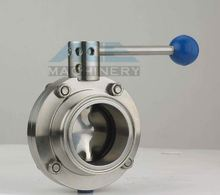 <span class=keywords><strong>Stainless</strong></span> Steel Food Grade Butterfly Valve