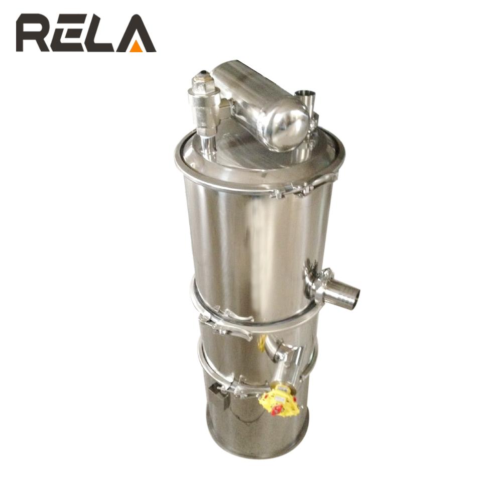 Industrial pneumatic vacuum grain conveyor / vacuum feeding machine