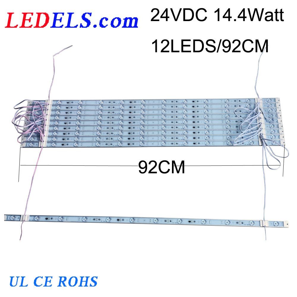 24VDC 12LEDS /9LEDS /6LEDS /3LEDS NICHIA led bar for light box, backlight led module for lightbox led strips bar for box sign
