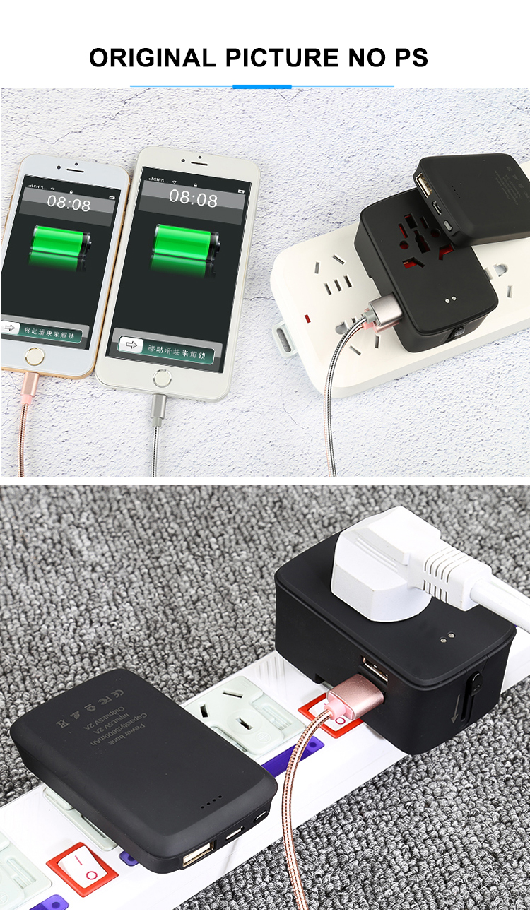 Otravel SL-310B 5000 mAh แบบพกพา Power Bank Universal Travel ADAPTER Charger
