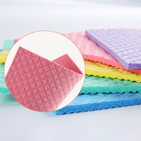 Germany Dish Cloth Eco Friendly Reusable Cellulose Sponge Cloth