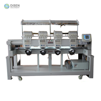 Multifunction four heads exports to korean embroidery machine