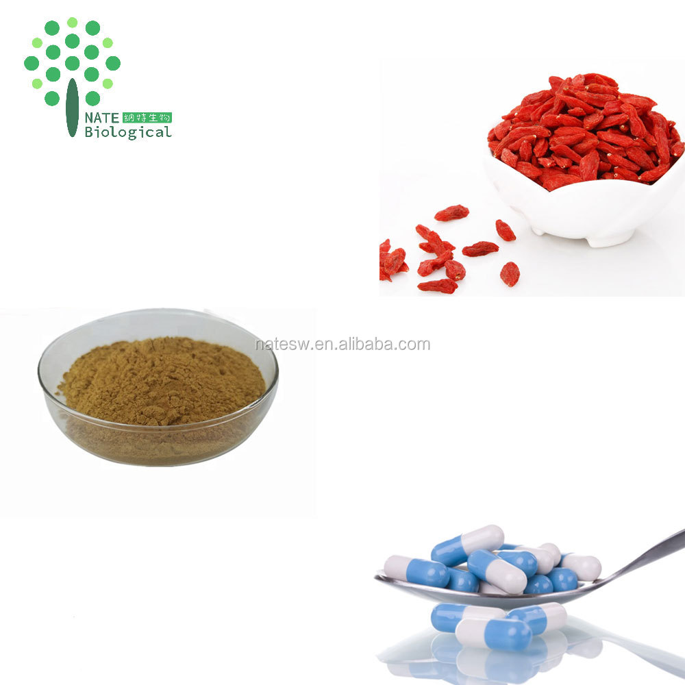 Natural Lycium Barbarum L Extract wolfberry extract powder wolfberry polysaccharide