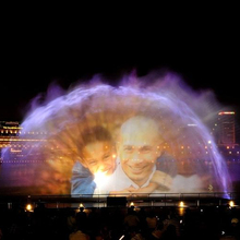 15 m hoogte out <span class=keywords><strong>water</strong></span> screen projectie led display movie fontein