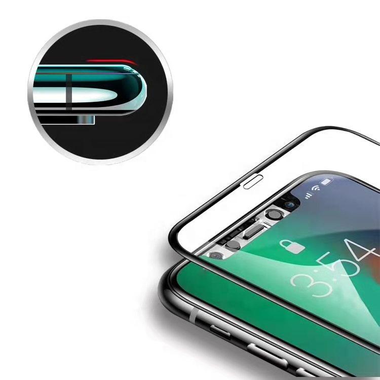 पेशेवर 21D टेम्पर्ड ग्लास के लिए Redmi नोट 8 के लिए iPhone 8 11 स्क्रीन रक्षक गार्ड