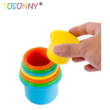 Stack up Cups children Educational toys Baby Stacking Cups