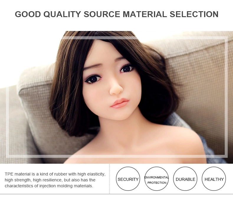 138cm flat breast TPE silicone sex doll young girl 18 sex love doll small boobs