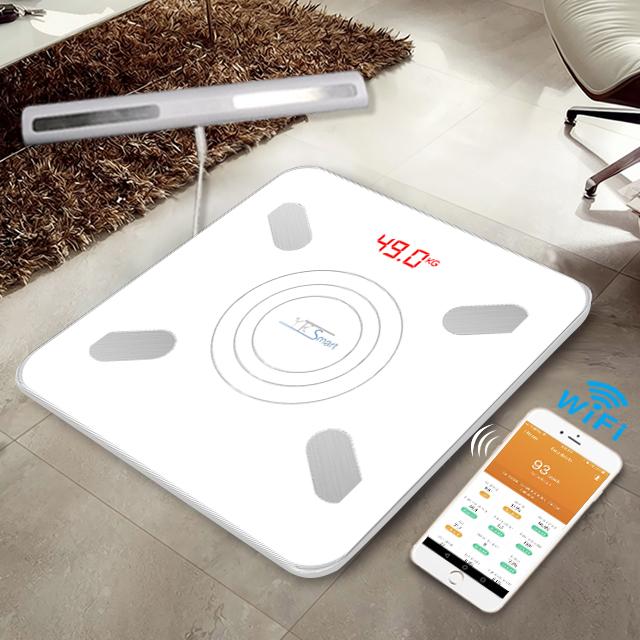 Bluetooth Body Fat Bathroom Scale 2020 Newest Factory Wifi Digital Body Fat Scale Weight Scale