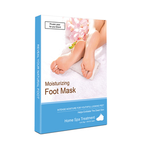 Wholesale Moisturising Baby Skin Foot Peel Foot Care Mask Cream OEM