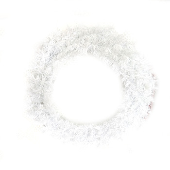Artificial Green White Wholesale Decorated Christmas Wreath