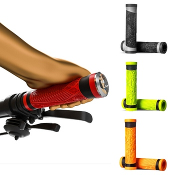Bicycle Handlebar Grip Silicone Handle Bar Cover For MTB Bike Lever Protector