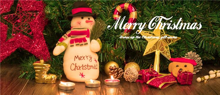 OP-R presentes de Natal brinquedos de pelúcia bonecas santa luvas do jardim de infância brinquedo fantoche de mão de distribuição de recrutamento direto da fábrica