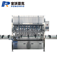 Piston 20 heads cooking sunflower oil and edible vegetables olive oil bottle filling machine