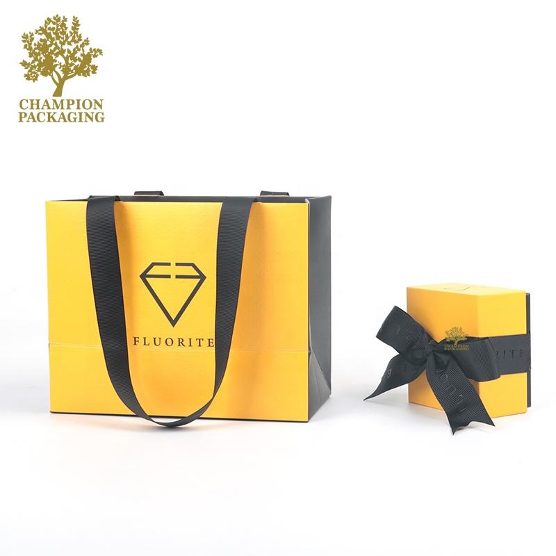 Fornitore della cina di vendita Su Ordinazione di Lusso contenitore di monili di carta di imballaggio, contenitore di regalo dei monili