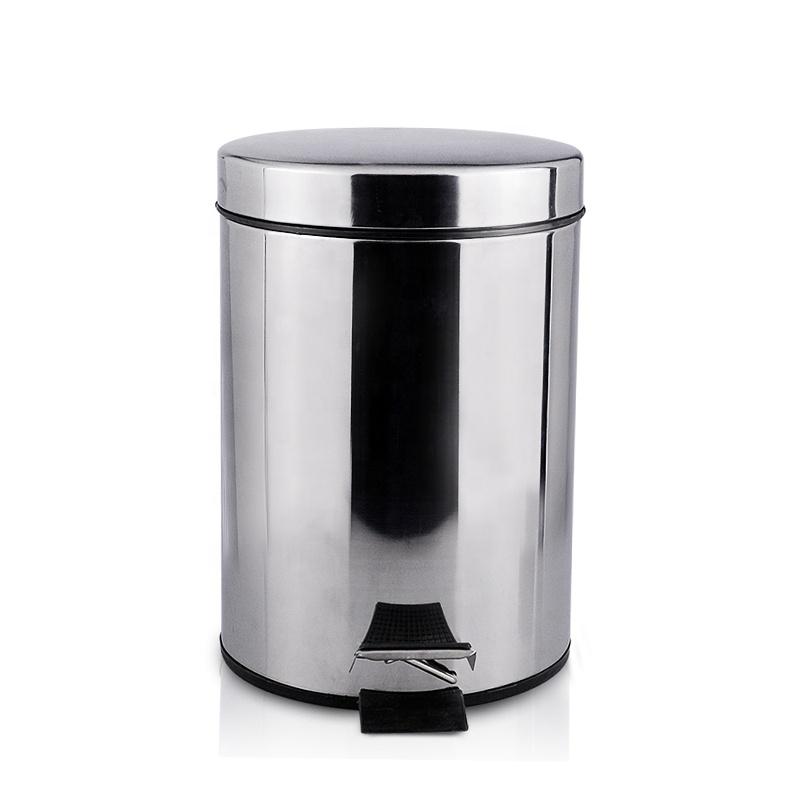 Brushed Fingerprint-proof Smart Metal Trash Can Kitchen Pedal Dustbin  Stainless Steel Garbage Bin With Inner Bucket - Buy Garbage Bin,Hospital  Public ...