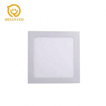NH 81003 Series 3w flat square cost-effective led panel light 3 in 1