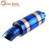 JZZ High Performance auto Car Exhaust Muffler for universal car