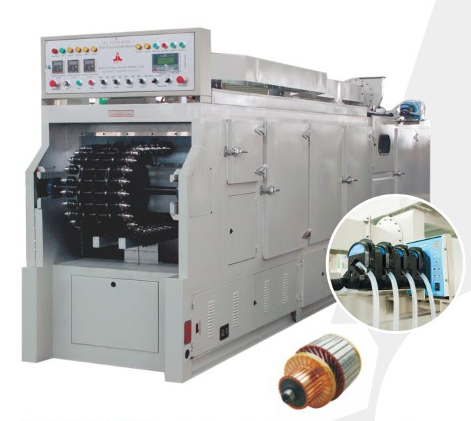 SZG Tunnel Style Motor Stator Rotor Lacquer Painting Insulation Machine