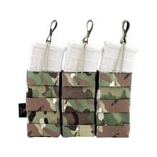 Набор тактических аксессуаров Krydex, тройной мешочек для журналов JM M4 5,56, водные гелевые бусинки для журналов, аксессуары для тактики на откры...(Китай)