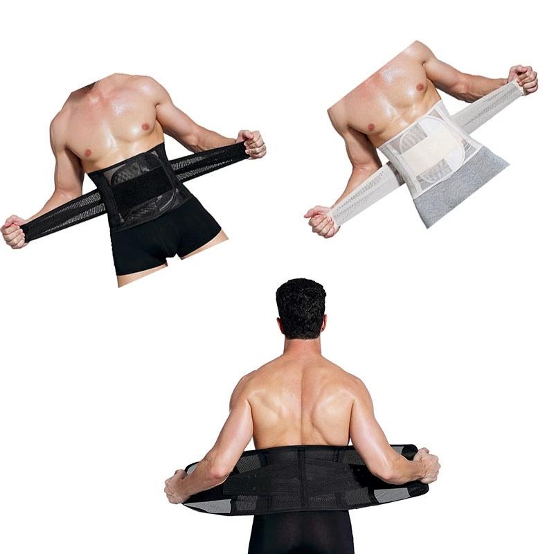 Custom Logo Hot Sale Men's Sports Fitness Belly Belt Multifunctional Slimming Belt With Beer Belly
