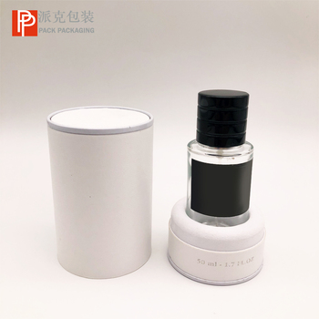Luxury cylinder skin care glass bottles cosmetic paper packaging hand cream packaging tubes